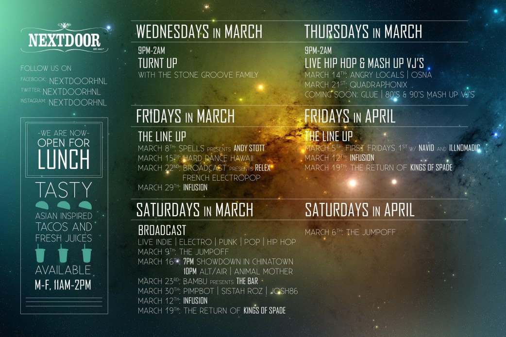 Nextdoor_March_2013_Schedule_36x24_Window_Graphic