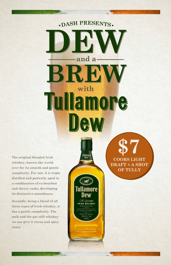 DASH_DEW_AND_A_BREW_TULLAMORE_POSTER