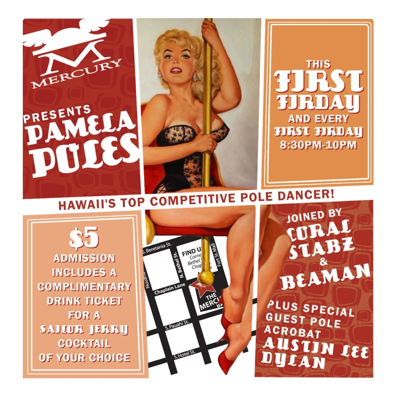 Mercury_Bar_Pamela_Poles_First_Friday_Flyer