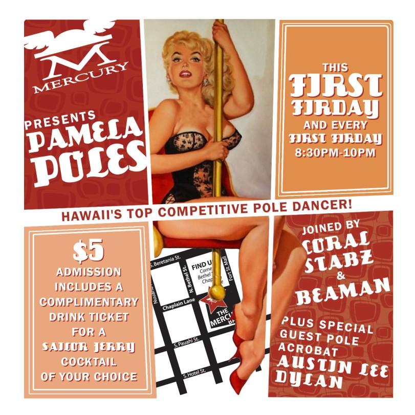 Mercury_Bar_Pamela_Poles_First_Friday_Flyer